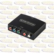 Conversor HDMI para Vídeo Componente YPbPr de vídeo e R/L de áudio