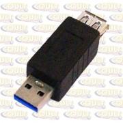 Adaptador USB 3.0 AM X AF