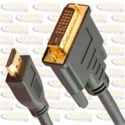 Cabo HDMI X DVI (24+1)