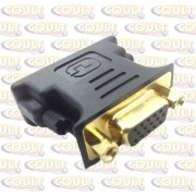 Adaptador DVI(24+5) M X VGA F Ouro