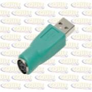 Adaptador USB Macho x PS2 Femea