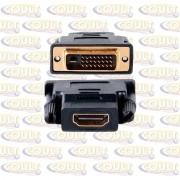 Adaptador HDMI Fêmea X DVI Macho 24+1