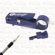 Decapador de Fio Cabo Coaxial SDI Belden Cable Pro PSA59-6 RG59 RG6
