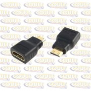 Adaptador HDMI Femea X Mini HDMI Macho