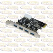 Placa PCI Super Express Usb 3.0 - 4 Portas